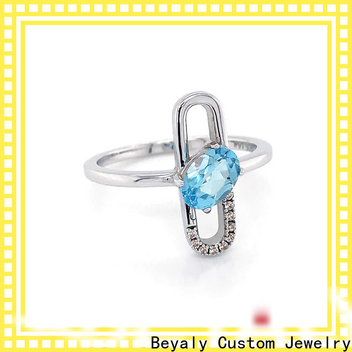 BEYALY stone rings popular for business for men