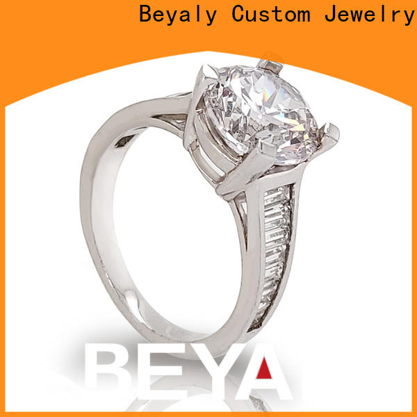 High-quality latest designer diamond rings jewelry manufacturers for daily life