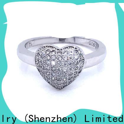 BEYALY platinum popular diamond ring settings for business for men