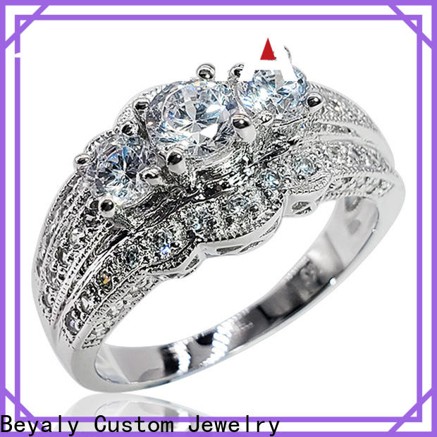 BEYALY gold top 10 most popular engagement rings factory for daily life