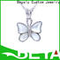 Wholesale silver charms for girls cz Suppliers for wife