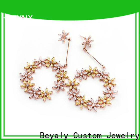 Top earrings and jewelry blooming factory for business gift