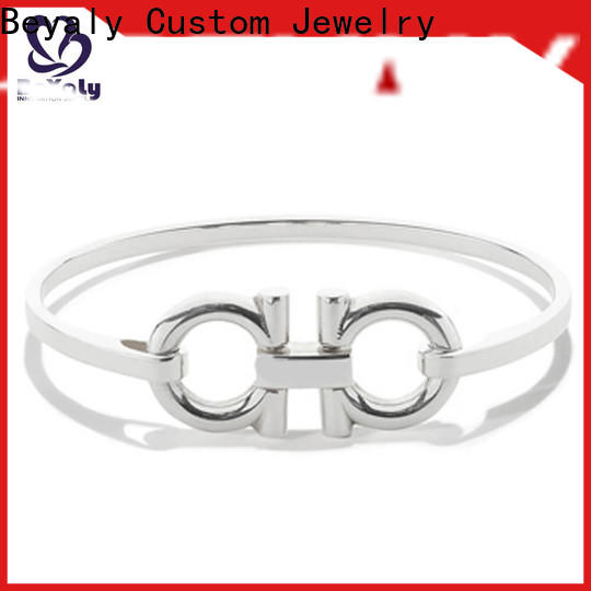 High-quality rose bangle bracelet zirconia for business for business gift