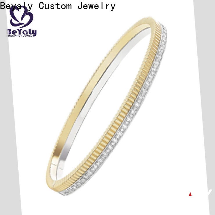BEYALY wind silver gold bracelets jewelry factory for ceremony