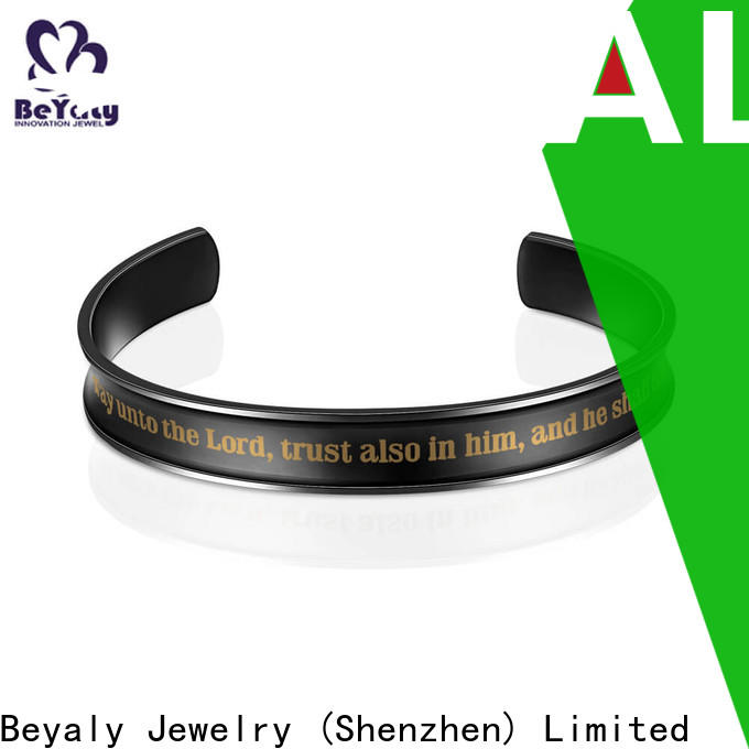 Best silver gold and rose gold bracelet two factory for advertising promotion