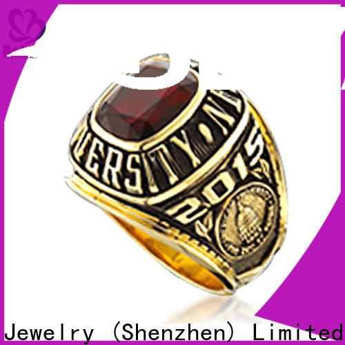Top big class rings black company for students