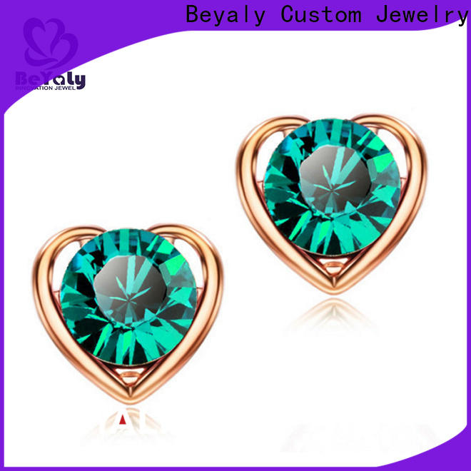 fashion beautiful earrings for sale silver for business for women