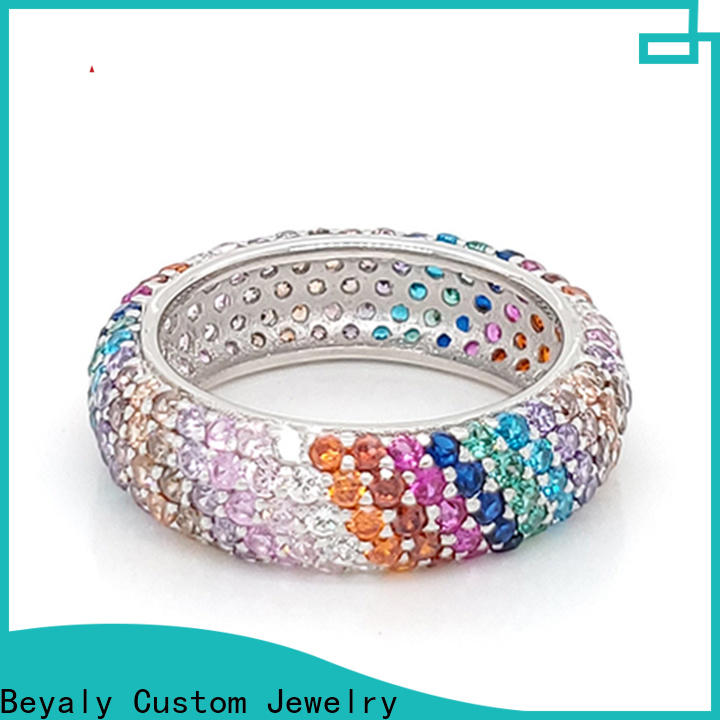 BEYALY steel awesome diamond rings manufacturers for men