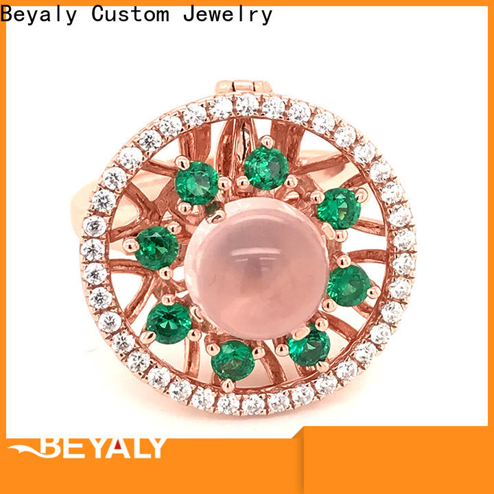BEYALY roman top diamond ring designers Suppliers for daily life