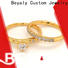 BEYALY steel popular fashion rings Supply for daily life
