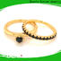 BEYALY brown popular diamond ring settings Supply for daily life