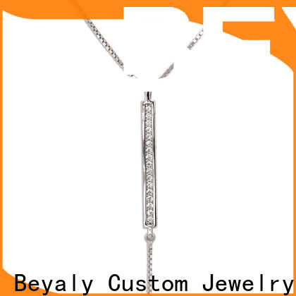 Custom initial jewelry necklace totem Suppliers