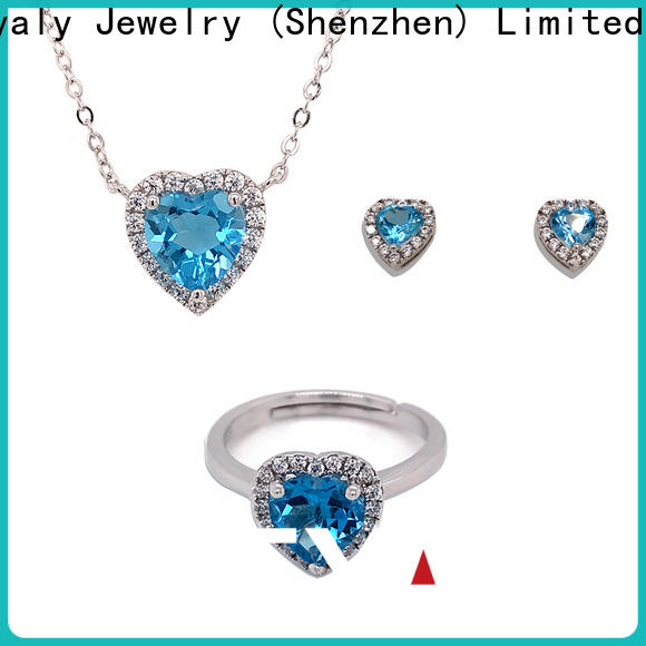 BEYALY High-quality black silver jewelry sets manufacturers for business gift