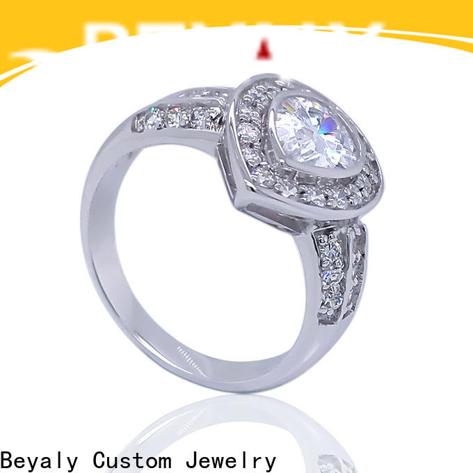 BEYALY diamond most popular ring settings manufacturers for daily life