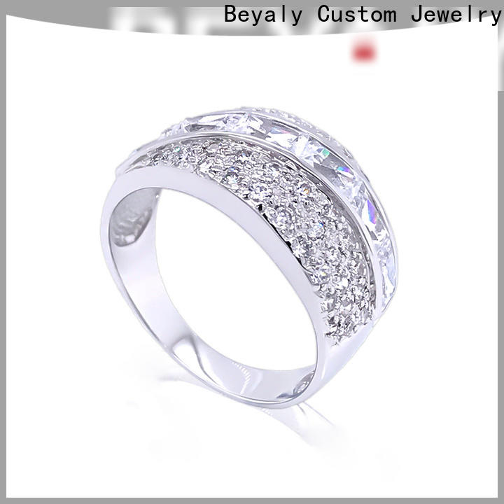BEYALY diamond top engagement ring sites Supply for daily life