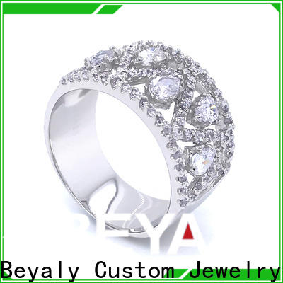 Latest best selling wedding rings zircon Suppliers for daily life