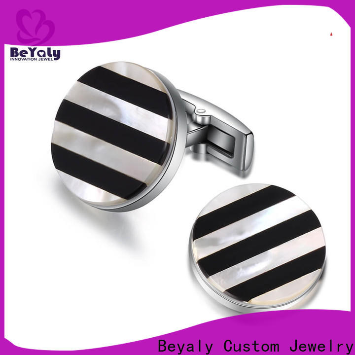 BEYALY special mens 14k gold cufflinks for business for ceremony for advertising promotion