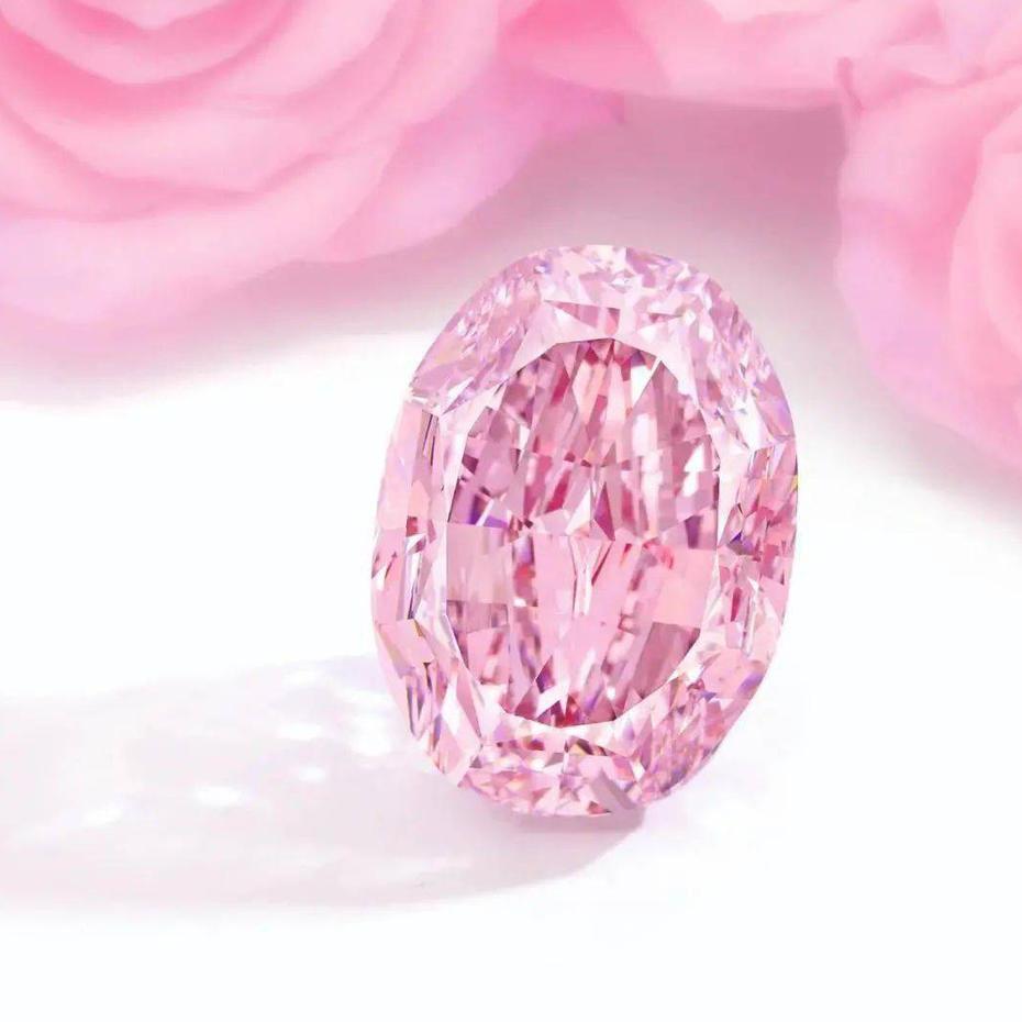 The world's largest purple pink diamond sold 176 million yuan!