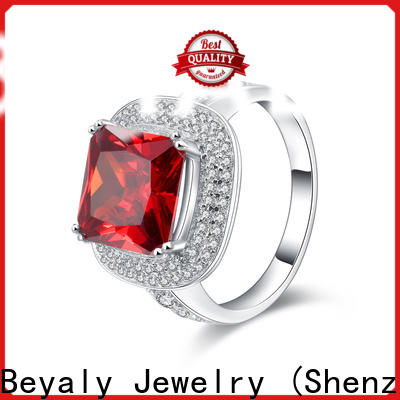 BEYALY Custom over the top wedding rings company for women