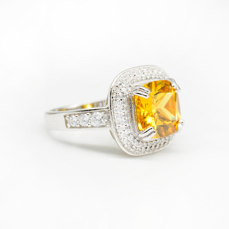 product-BEYALY-High End Cubic Zircon Silver Engagement Rings-img