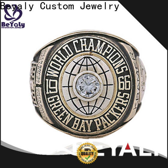 BEYALY Custom little league football championship rings manufacturers for national chamions