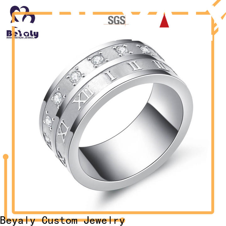 BEYALY promise top diamond engagement rings Suppliers for wedding