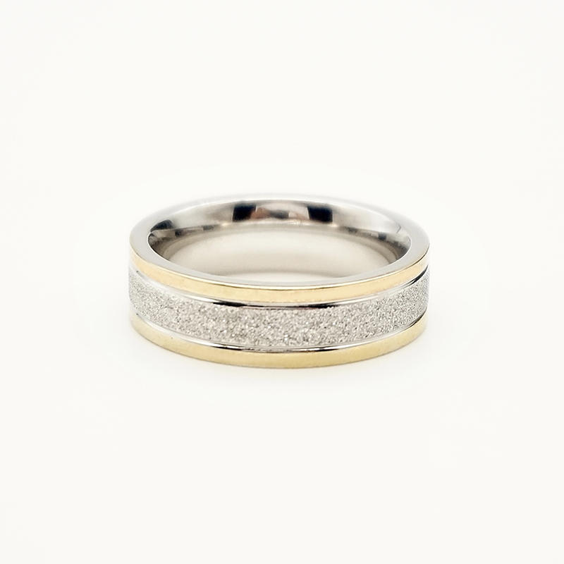 product-BEYALY-Wholesale Fashion Luxury 18k gold plated rings Stainless Steel without stones mens ri