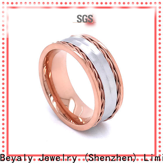 BEYALY gold most stylish engagement rings factory for daily life