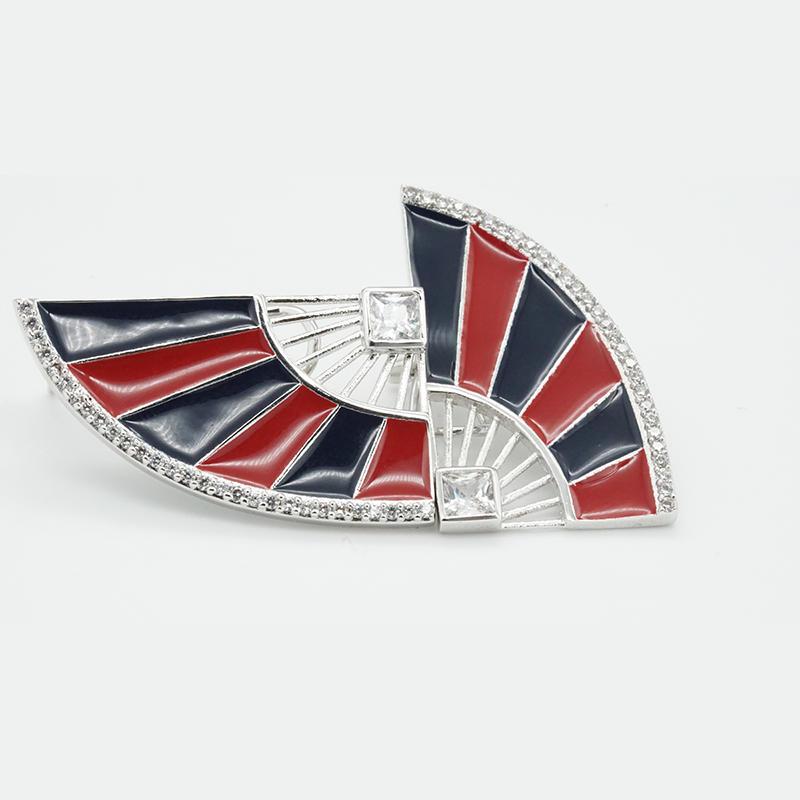 product-Custom Fashion Jewelry Online Geometric 925 Wholesale Sterling Silver Fan-Shaped Earrings Bl-1