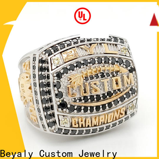 Wholesale ring title hilltops Suppliers for athlete
