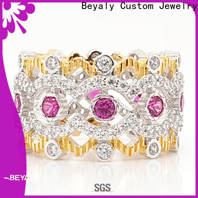 BEYALY king and queen crown rings for business for women