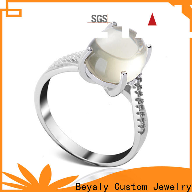BEYALY gold popular wedding ring sets manufacturers for daily life