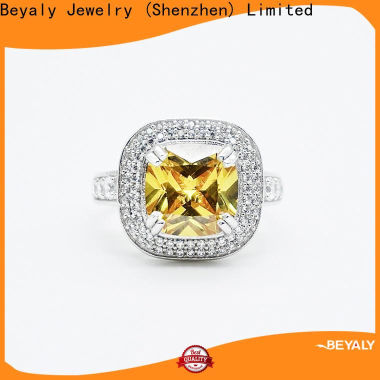 BEYALY Custom most elegant wedding rings company for wedding