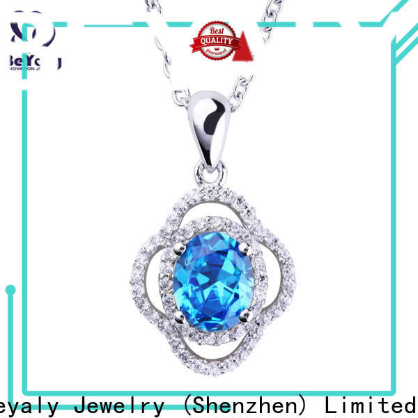 BEYALY pegasus initial jewelry necklace Suppliers for women