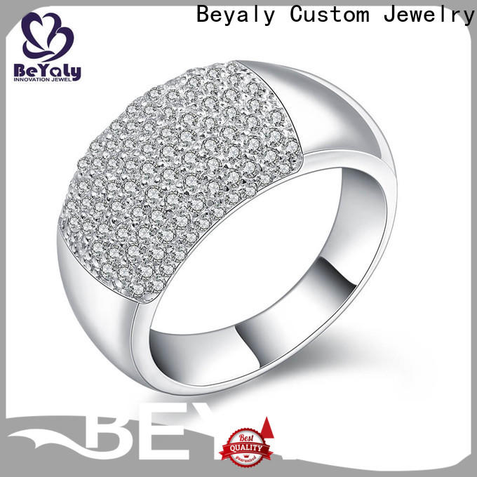 BEYALY diamond popular diamond ring styles manufacturers for wedding