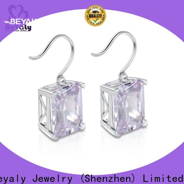 BEYALY flower earrings and jewelry for advertising promotion