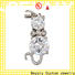 Best buy white gold chain carved Suppliers for girls