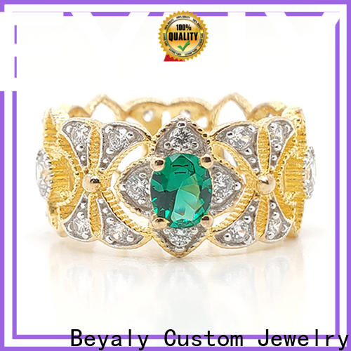 BEYALY princess jewelry crown ring wholesale for daily life