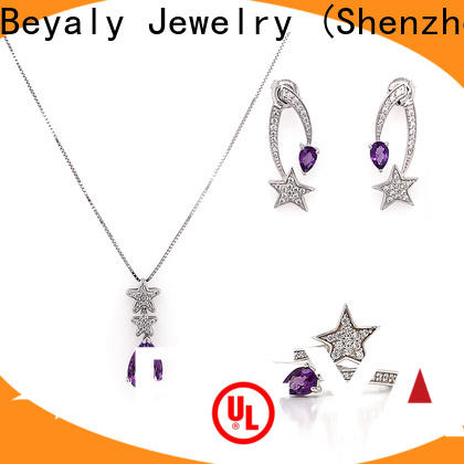 BEYALY colorful jewelry sets company for advertising promotion