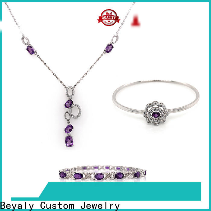BEYALY earring ring set Supply for business gift