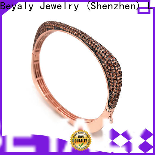 BEYALY New cubic zirconia bracelet manufacturers for advertising promotion