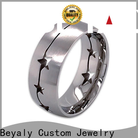 BEYALY silver popular wedding ring designs factory for women
