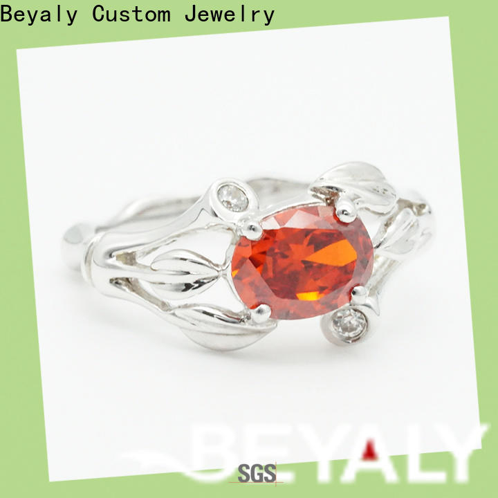 BEYALY sterling most popular engagement ring brands Supply for daily life