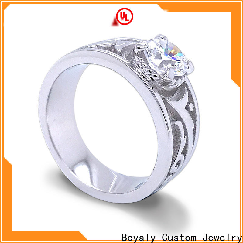 BEYALY brown most popular engagement ring brands factory for daily life