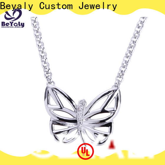 stylish jewel pendant necklace delicate Supply for women