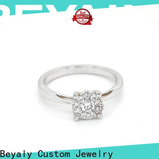 BEYALY plating popular wedding ring designs factory for men