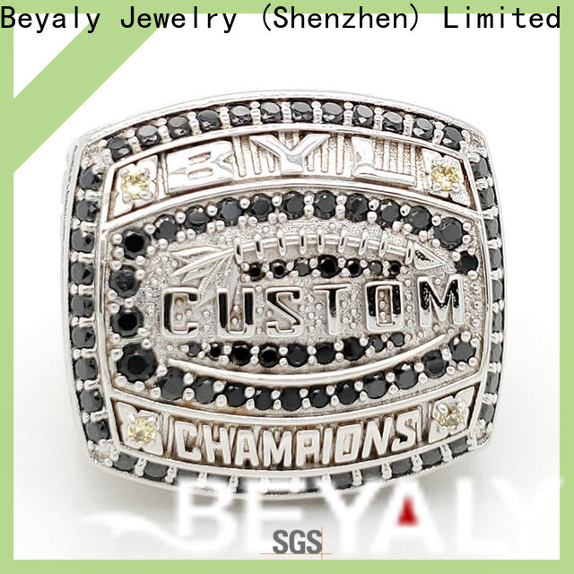 High-quality custom award rings ring Supply for national chamions