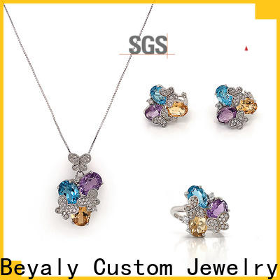 BEYALY gold pearl set jewelry for business for business gift