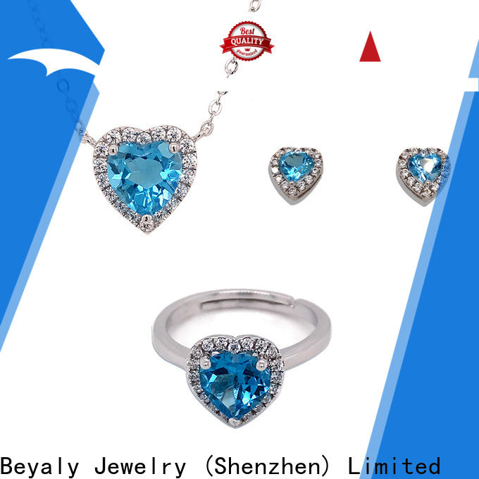 BEYALY Top matching necklace earrings and bracelet sets manufacturers for advertising promotion