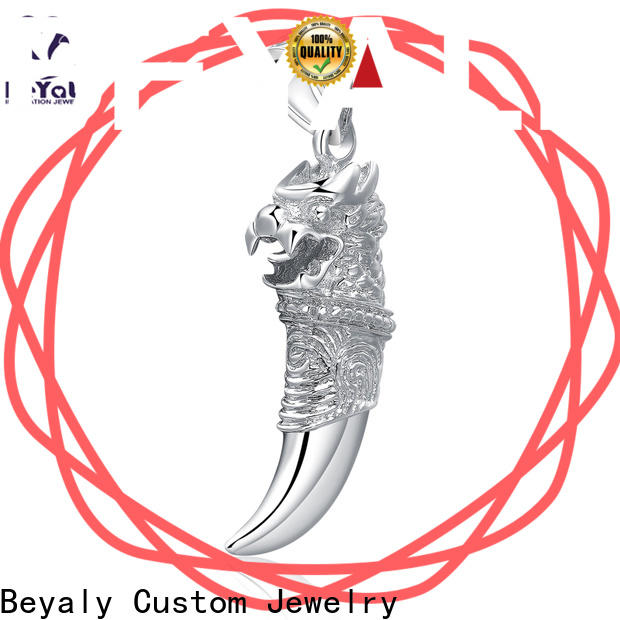 High-quality charm necklace charms brass manufacturers for ladies